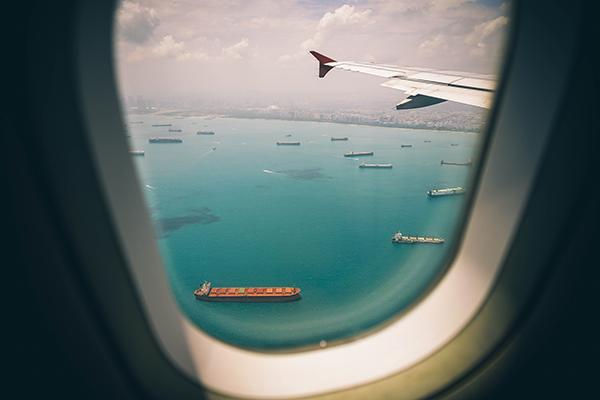 volo internazionale