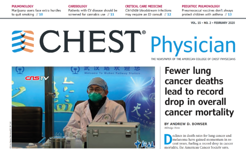 February 2020 CHEST Physician Cover