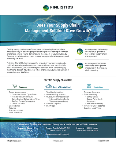 Does Your SCM Solution Drive Growth?