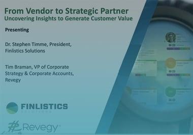 Webinar: From Vendor to Strategic Partner