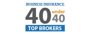 Business Insurance 40 under 40 brokers SAHOURI
