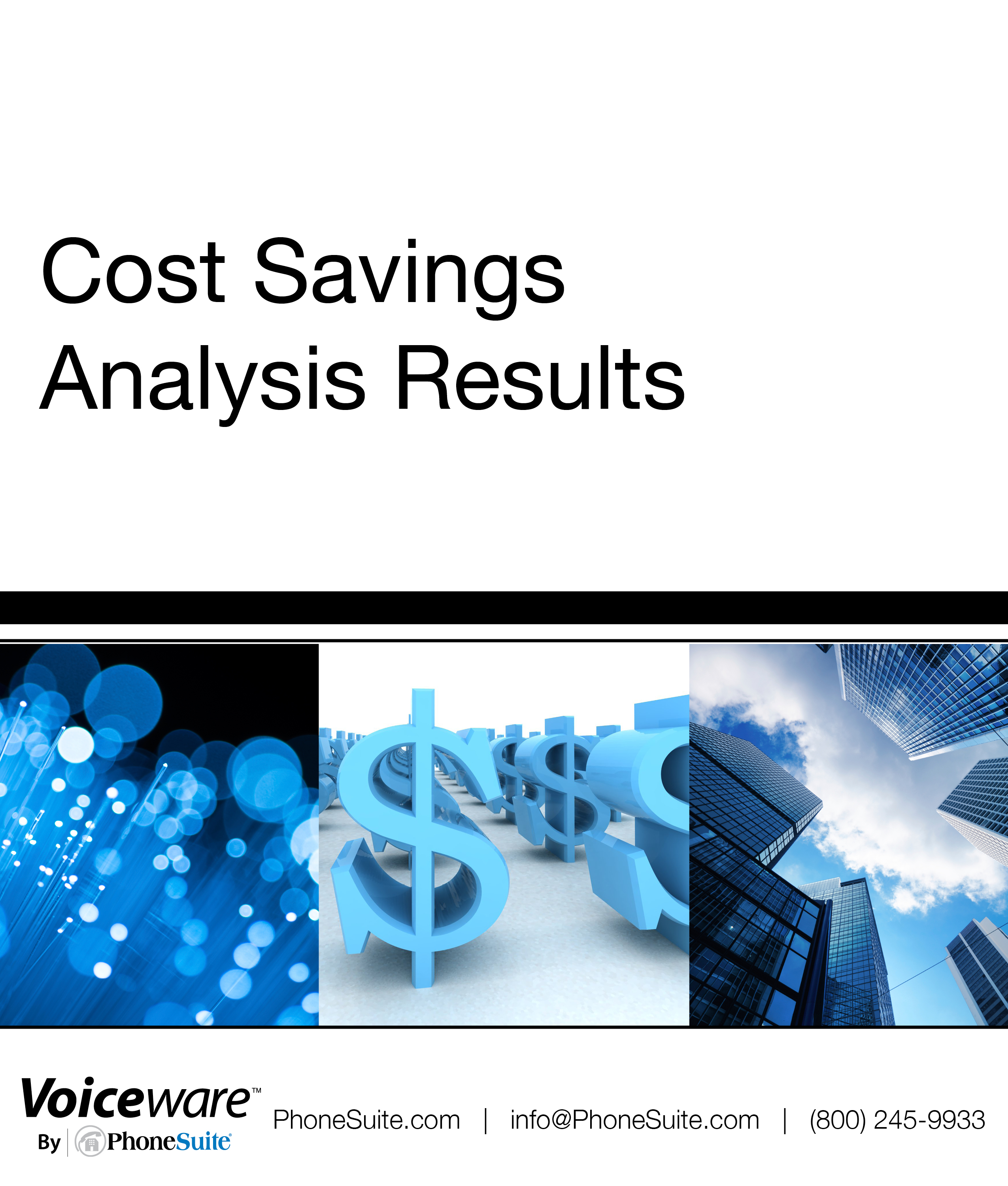 Free Cost Savings Analysis