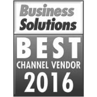 2016 Business Solutions Best Channel Vendor 2016