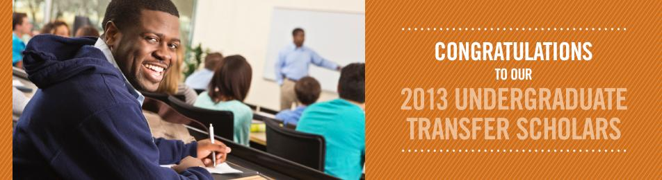 Undergraduate Transfer Scholarship