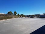 Asset Cabins and Homes' new concrete apron takes shape
