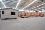 What is the process for building modular cabins for tourist parks?