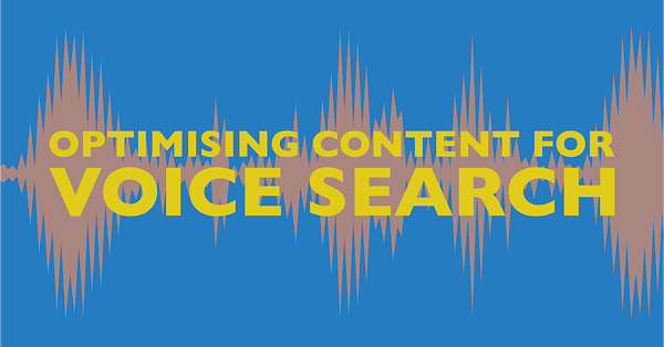 How to optimise content for voice search