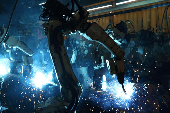 Robots Manufacturing Welding