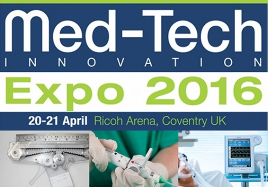 Come visit us at Med Tech Innovation, Coventry, April 20-21