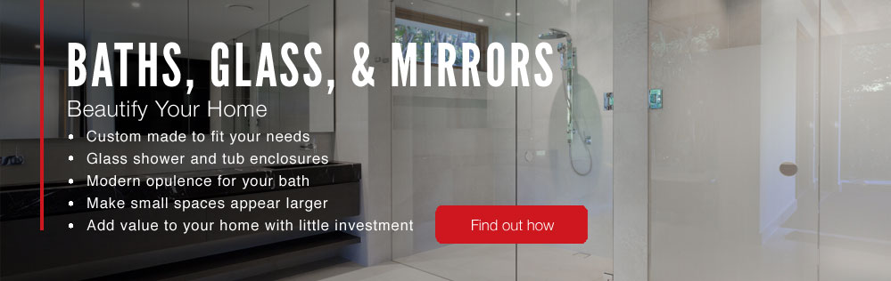 Glass & Mirrors, Shower Enclosures SW Florida