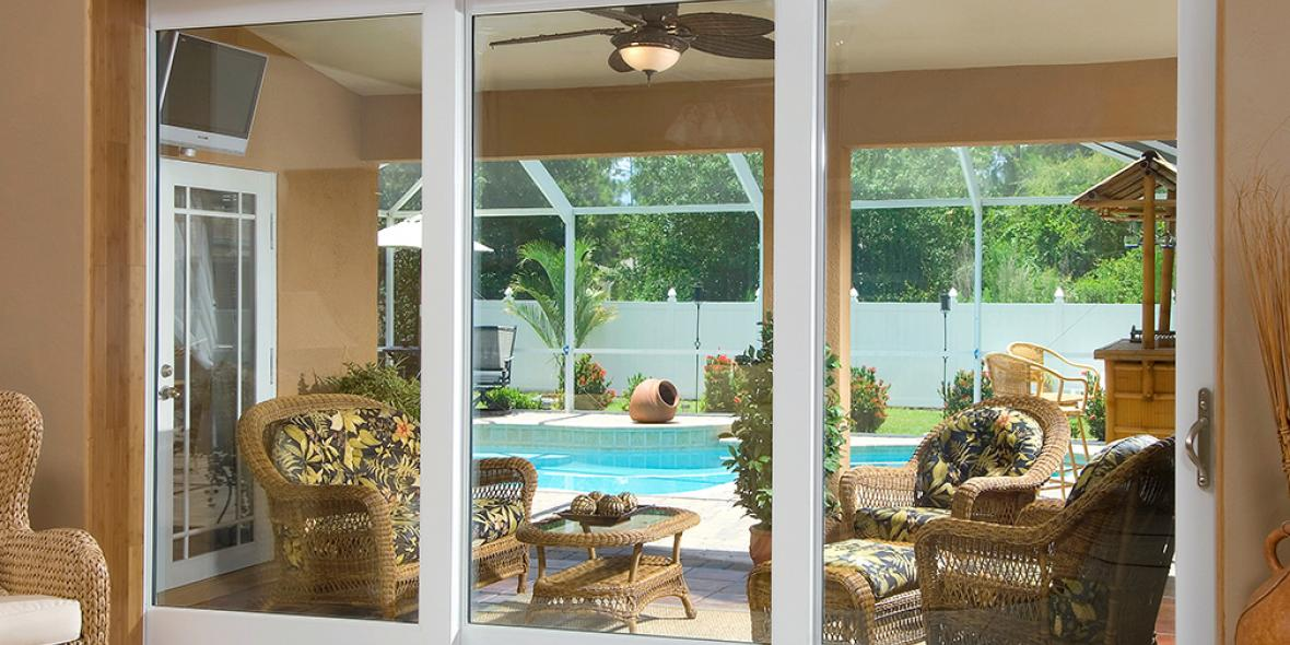 How To Make A Sliding Glass Door Open And Close More Smoothly