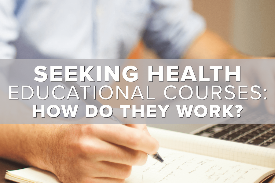 Seeking Health Educational Courses: How They Work