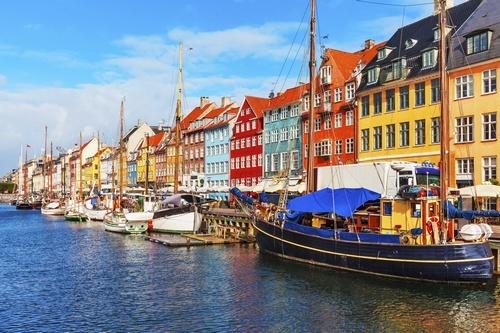 Canal in Denmark