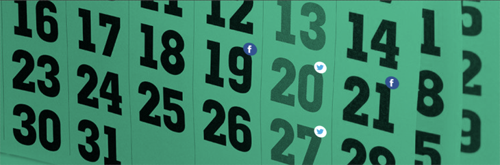 Be Consistent for Boosting Social Media Reach