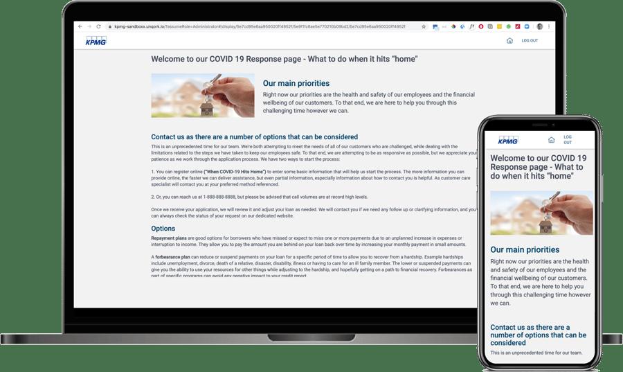 Customer Intake Portal