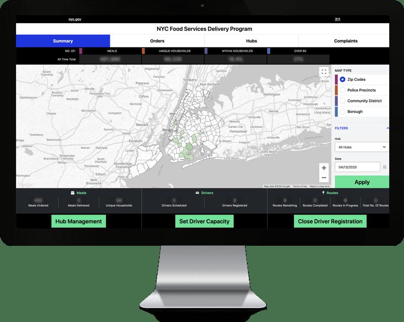 NYC Dashboard Desktop