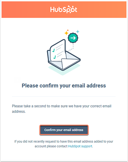 Change your HubSpot user's email address