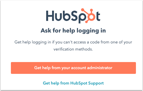 hubspot-login-lost-authentication-device-get-help