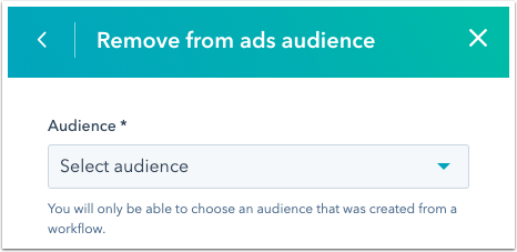 remove-from-ads-audience-action