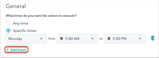 workflow-settings-specific-times-platform