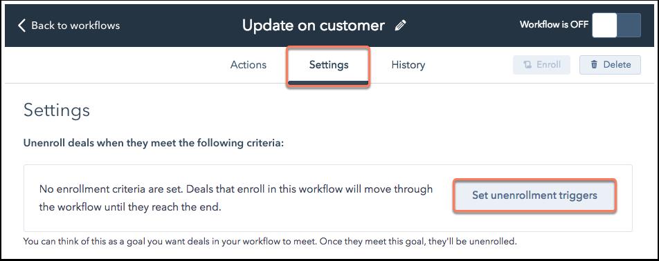 workflow-settings