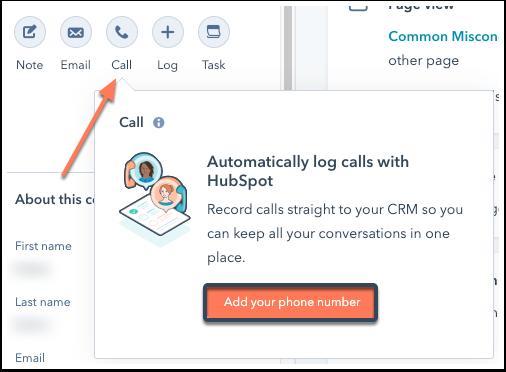 call-contact-record