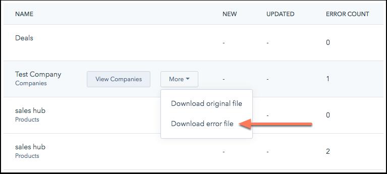 import-dashboard-download-errors