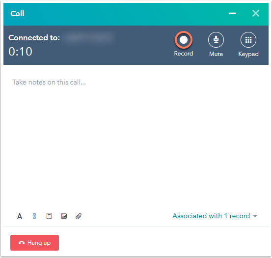 record-for-calling