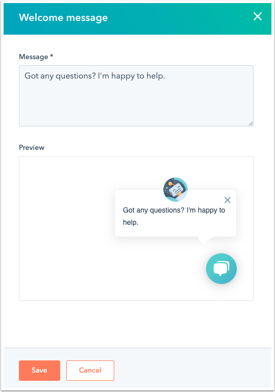 customize-welcome-message-in-bot