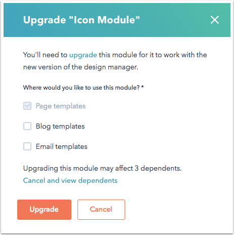 upgrade-design-manager-modules