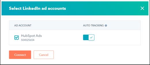LinkedIn Auto Tracking