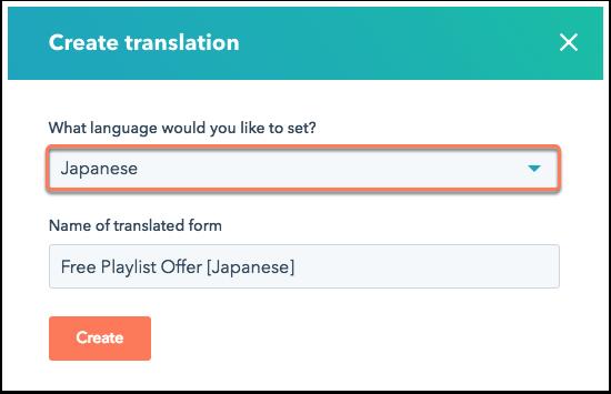 select-language-for-translation
