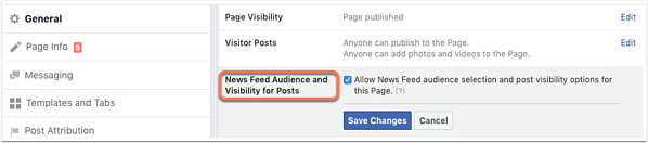 social-post-targeting-audience-optimization-setting-new-pages