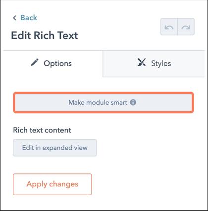 make-module-smart-on-a-page