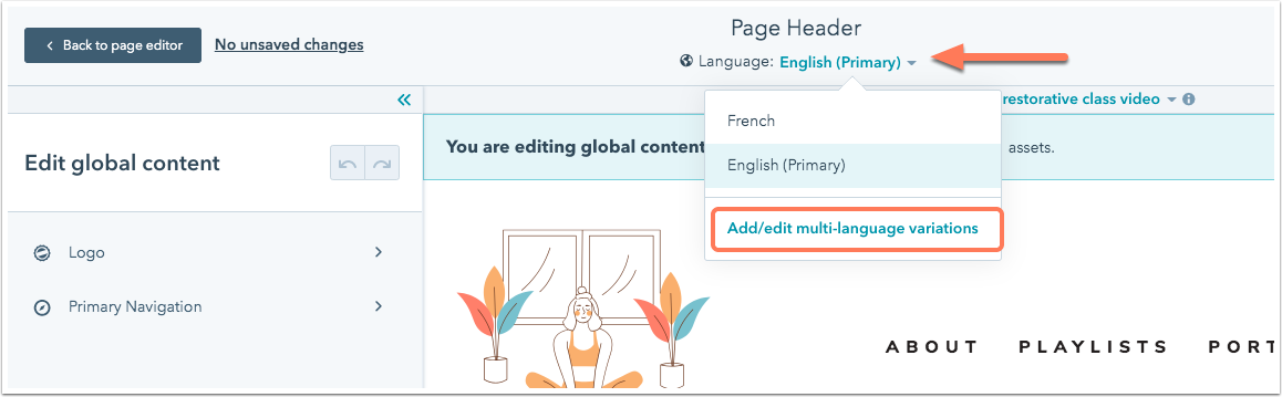 select-language-variation-global-content