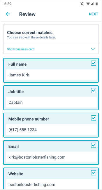 Import contacts on the HubSpot mobile app