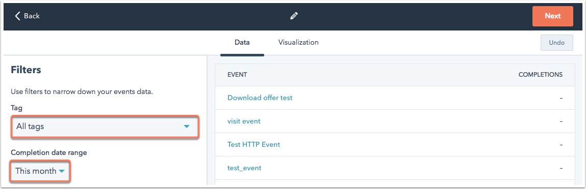 event-funnel-filters
