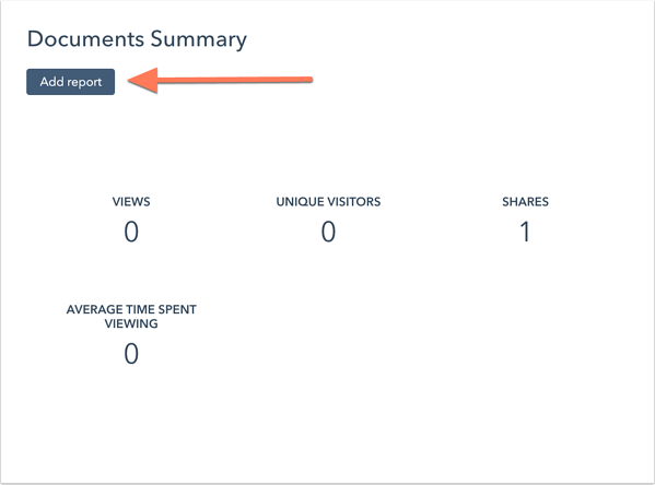 add-document-summary-report