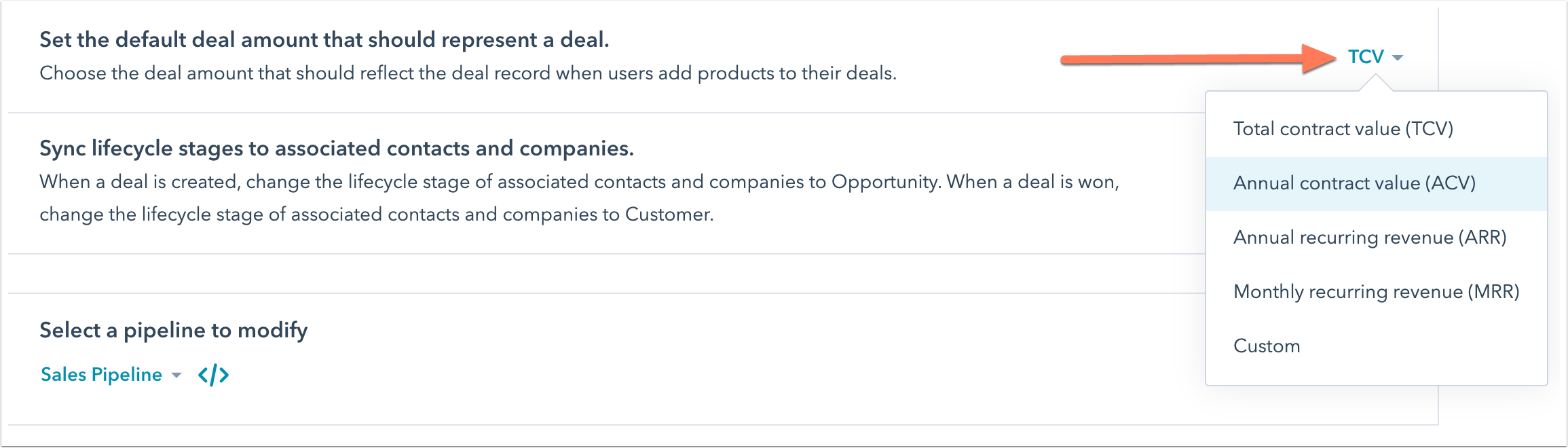 default-deal-amount-in-settings