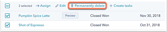 permanently-delete-a-deal
