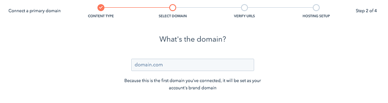 Connect your domain to HubSpot