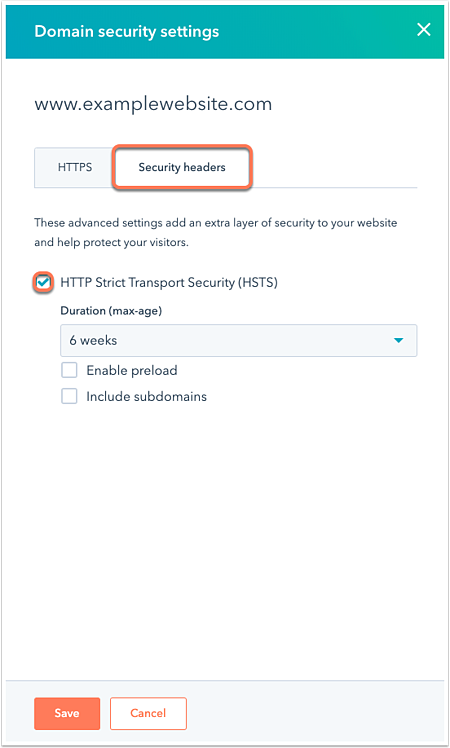 security-HSTS-setting