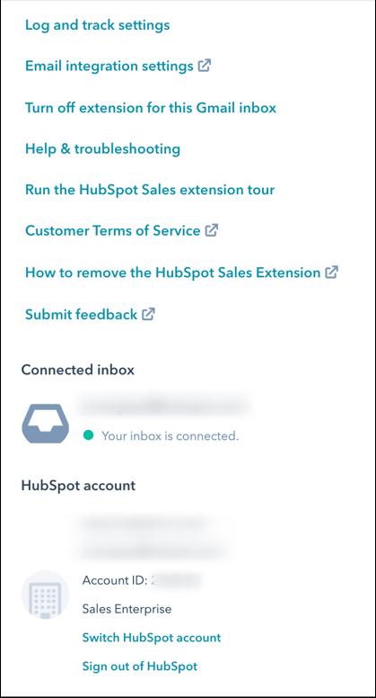 hubspot-gmail-extension-settings
