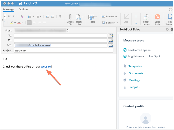 hyperlinked-text-in-an-outlook-email