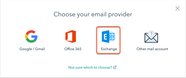 connect-exchange-inbox-choose-email-provider