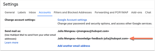 gmail -email -alias -set -up -in -account
