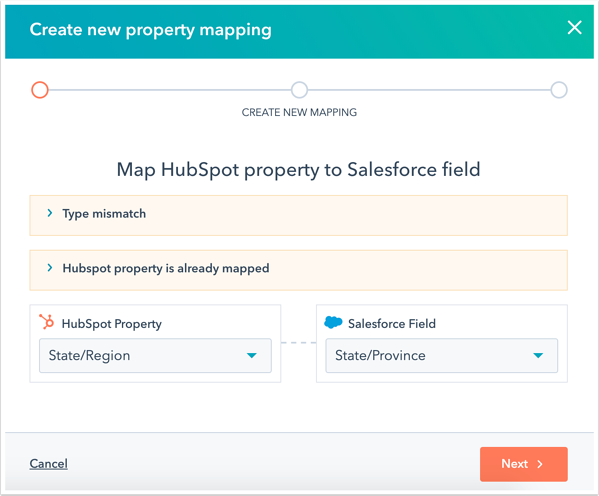refreshed-salesforce-property-mappings-select-property-field-errors