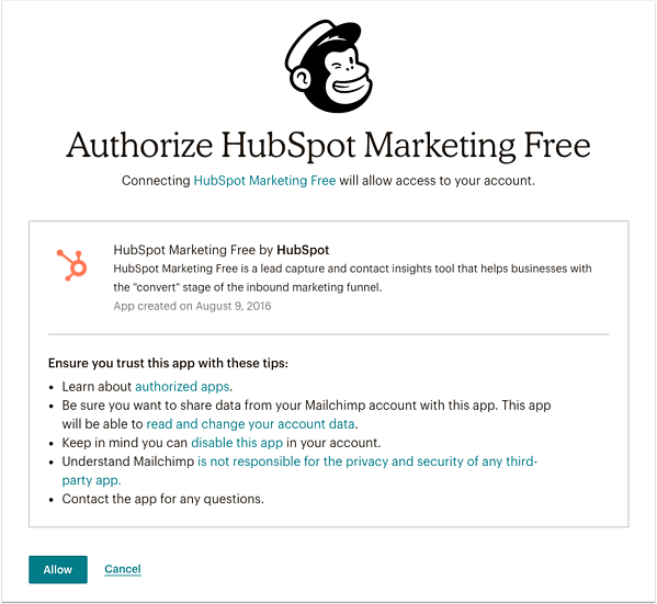 authorize-mailchimp-integration-dialog