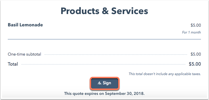 click-sign-on-quote