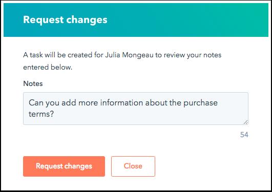 request-changes-dialog-box